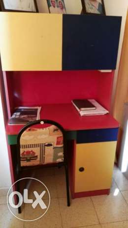 Custom made Children Bedroom, Wardrobe, Dressing table with storage مطرح -  6