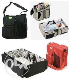 neonates travel bed and bag-2 in 1 مسقط -  2