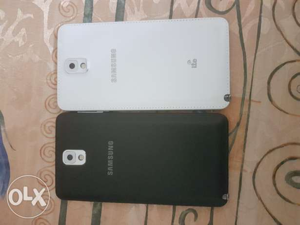 2 Samsung galaxy note 3 for sale