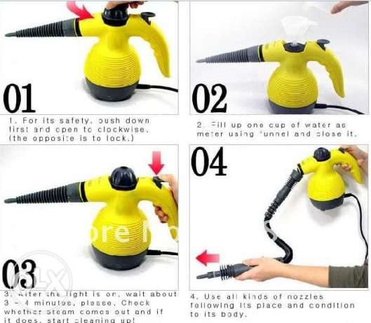 steam cleaner - for cleaning anything