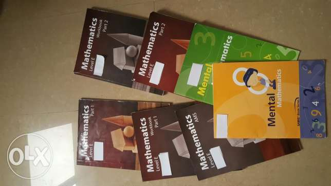 Grade 3 complete matematics book series of chouifat school