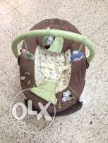 Baby bouncer few days used