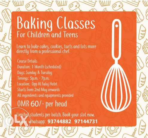 Baking Classes From Professional Chef