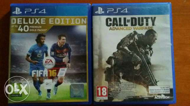 FIFA 16 and COD Advanced Warfare - Buy or Exchange مسقط -  1