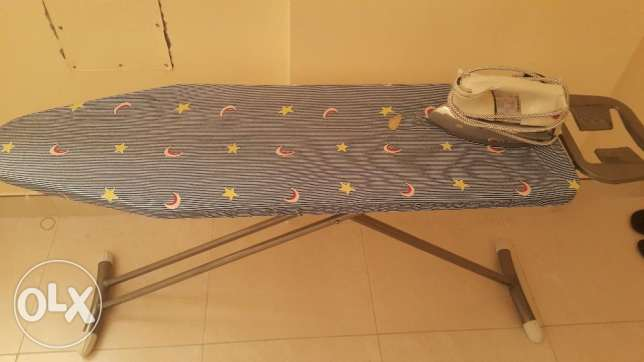 Iron and Iron Table for Sale