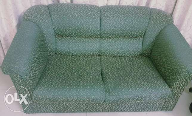 Sofa set 2+2 in good condition for sale مسقط -  1