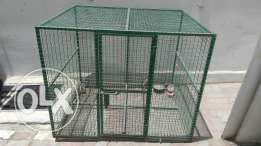 Steel cage for cats n dogs