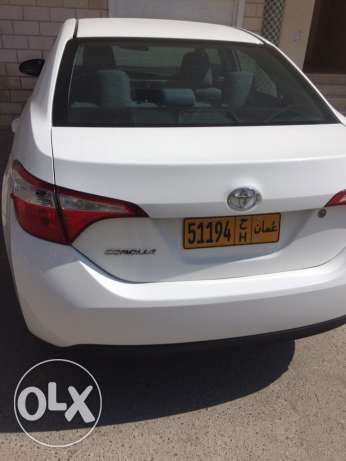 Toyota Corolla 2015 1.8 new car صلالة -  5