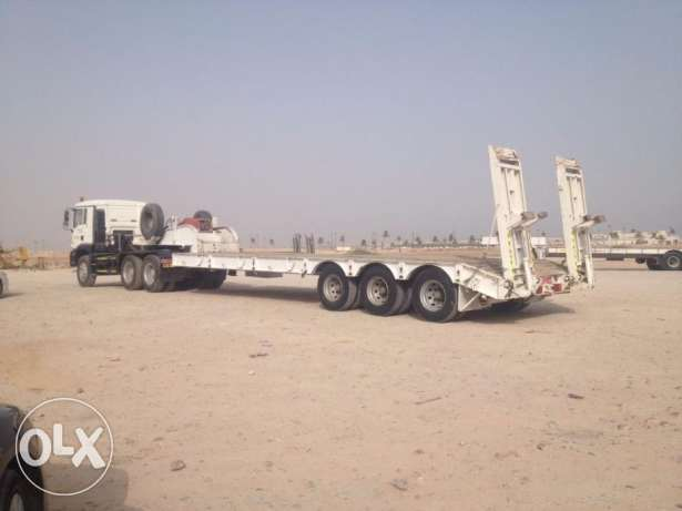 MAN Trailer 2008 Model with Lowbed for sale