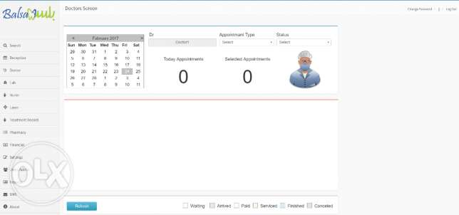 Balsam for clinic management software