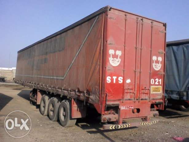 Curtain Side Trailers for Sale