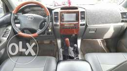 toyota prado very clean and very good condation every thing perfect