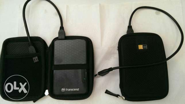 Transcend External Hardrive 1TB Made in Taiwan