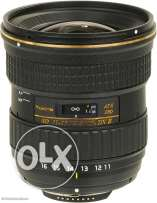 Tokina 11-16 f2.8 ii for Canon