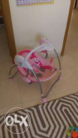 hello kitty baby swing as new