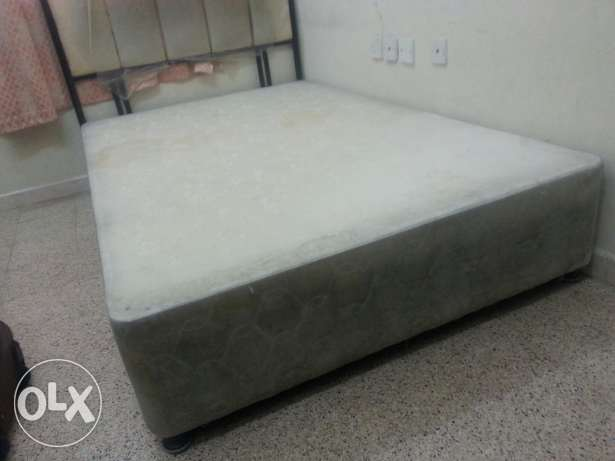 Single bed and cot