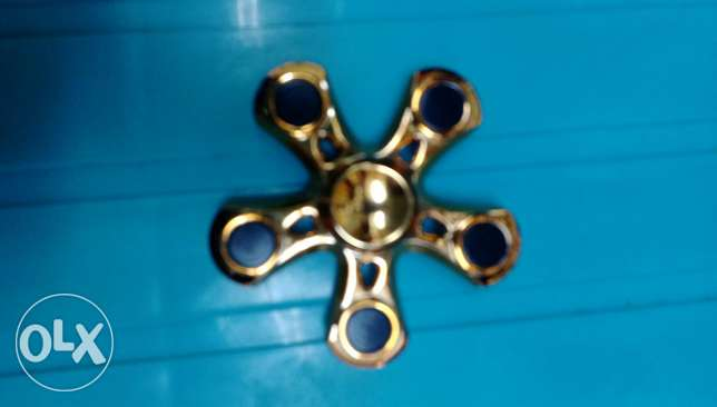 Gold colour spinner