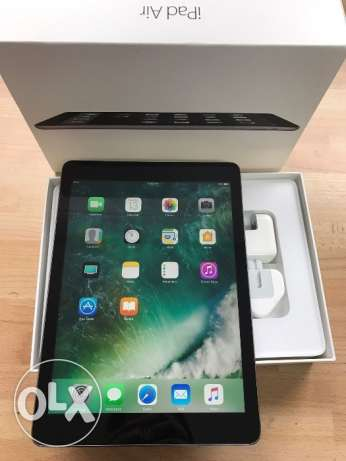"iPad Air 1, 16GB, 9.7"", Black, In Perfect Condition"