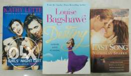 All 3 novels in OR6,in good condition. WhatsApp in number gvn below