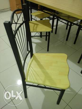 Dining table with six chairs مسقط -  2