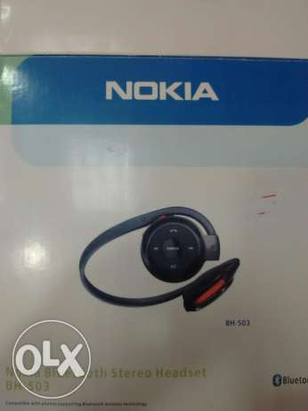 Nokia Bluetooth stereo Headset(BH-503) السيب -  1