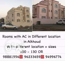 Rooms with Ac in alkoud