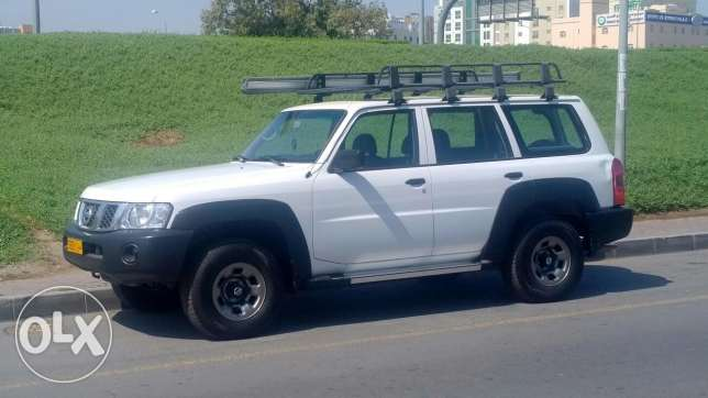Nissan patrol 4800 S with large roof rack and 3x3m awning بوشر -  3