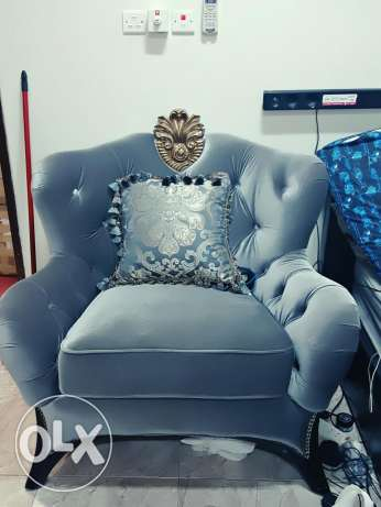 Maharaja accent chair