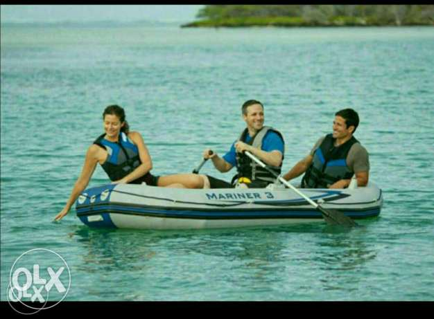 Rubber boat 4_5 person السيب -  4