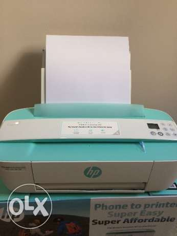 hp new printer, with WIFI, used less than one month