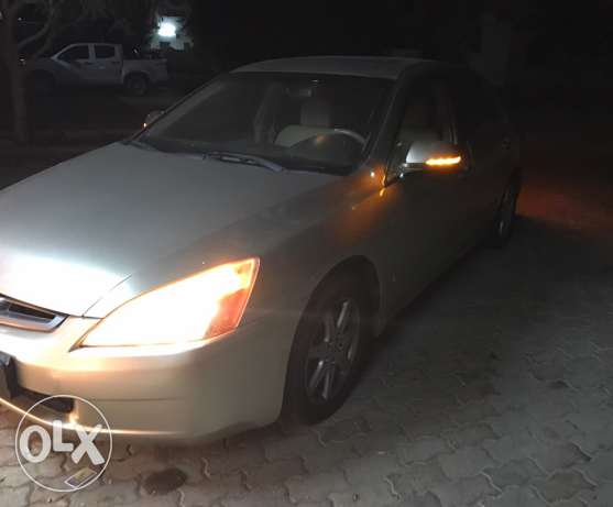 honda accord in good condition صحار -  5