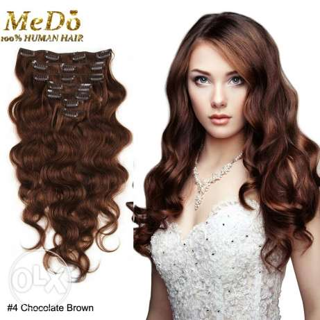 Original human hair extensions. مسقط -  2