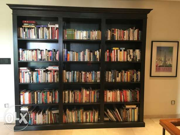 Marina Exotic Furniture Bookcase / Library made of solid wood