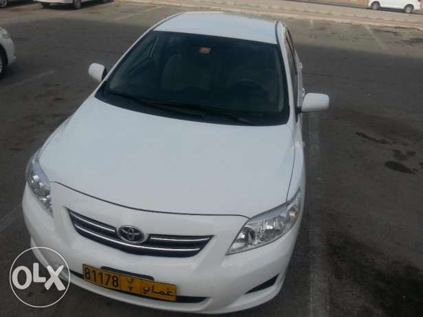 2009 corolla 1.6 automatic gear مسقط -  2