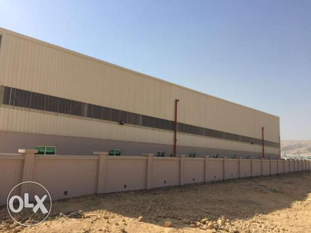 KA 237 Spacious Warehouses in RUSAYL for Rent مسقط -  3