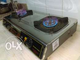 HITACHI 2 way gas burner stove for sale