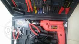 Drill machine and other many tools