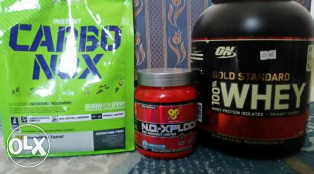 Why protine and per workout no xpold with carbo nox السيب -  1