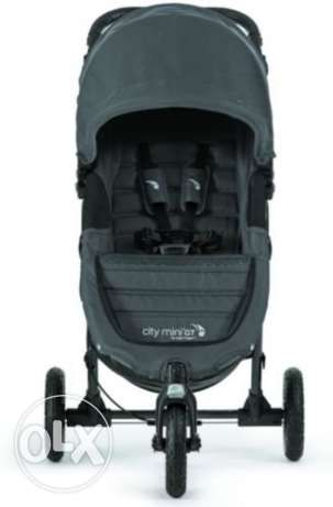 Baby Jogger City Mini GT Compact All Terrain Stroller Titanium NEW 201