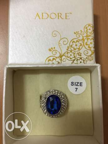 Blue Adore ring