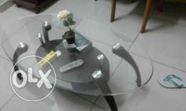 center table wooden legs with glass