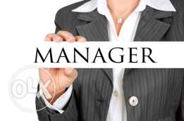 Manager job vacancy