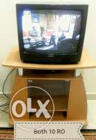 Trolley with Tv
