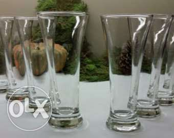 Lav glasses 6 pieces for 3 omr only