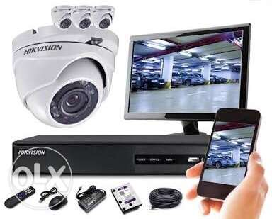 Cctv camera Instalation in lowest rate150riyal only
