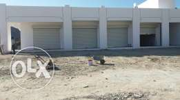 Garage and shops for rent