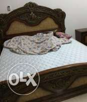 king size bed with mattress in mawaleh near mazoon mosque