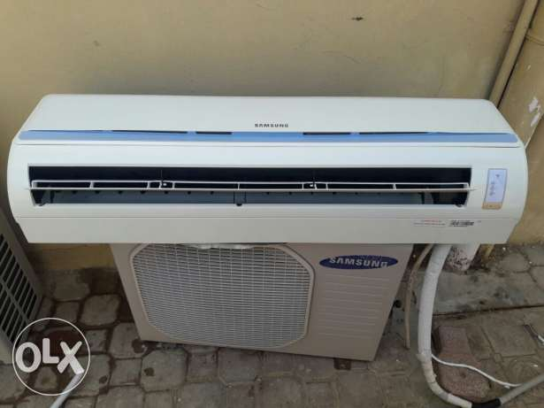 samsung saplit unit 1.5 very good clean same new for sale