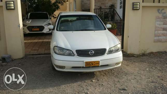 For sale: Nissan Maxima model 2003. Engine 3.0. Asking for 1200 OMR. C