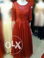 Available Red evening dress
